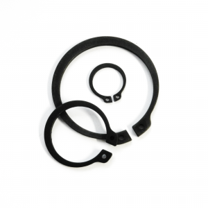 Heavy Duty External Circlips DIN 1460 Carbon Steel - Metric