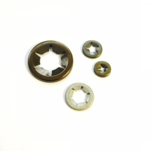 Push On Fastener 3mm STAR3