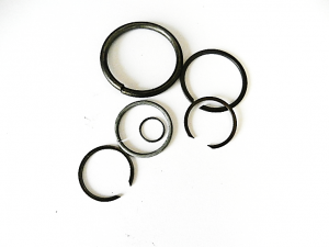 Wire ring and snap ring mix