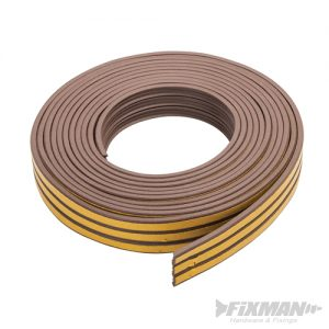 Self-Adhesive P-Profile Weather Strip