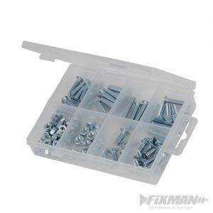 CSK Machine Screws & Nuts Pack 105pcs