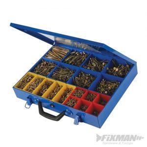 Goldstar Countersink Screws Pack (3,400pcs)