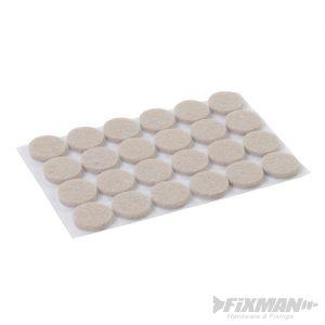 Self Adhesive Felt Pads Protectors 24pk